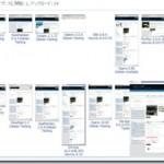 物凄い数のブラウザの表示チェックを一括で試す事が出来るWebクリエイターの為のネットサービス