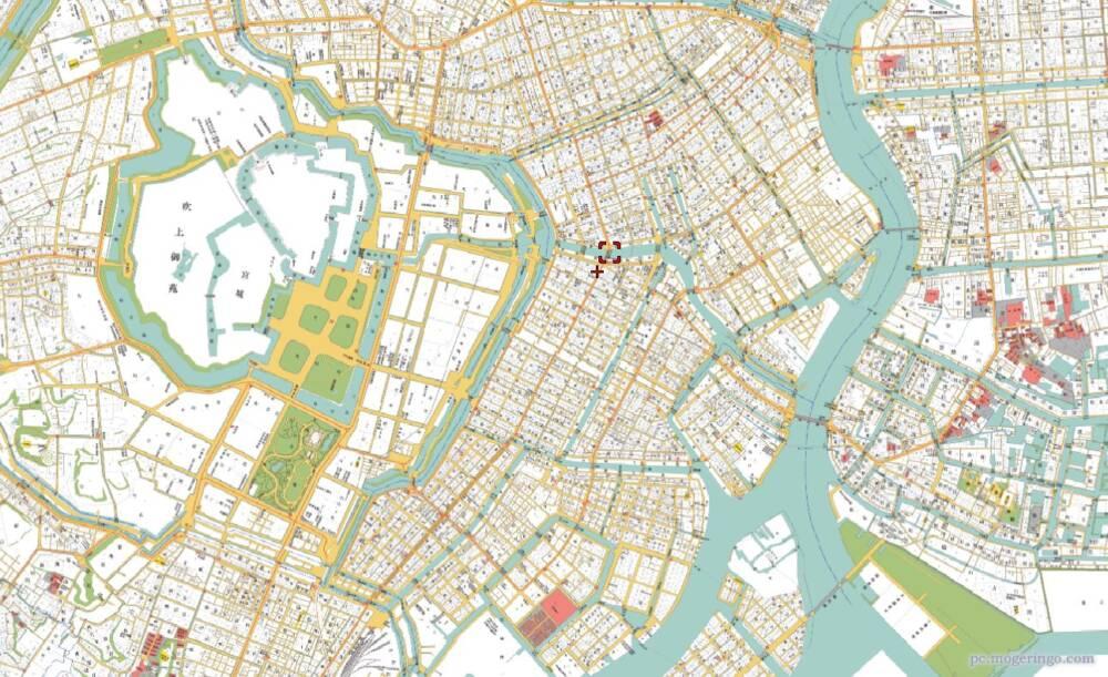 江戸時代の東京マップを見る事ができるWebサービス 『goo地図 古 ...
