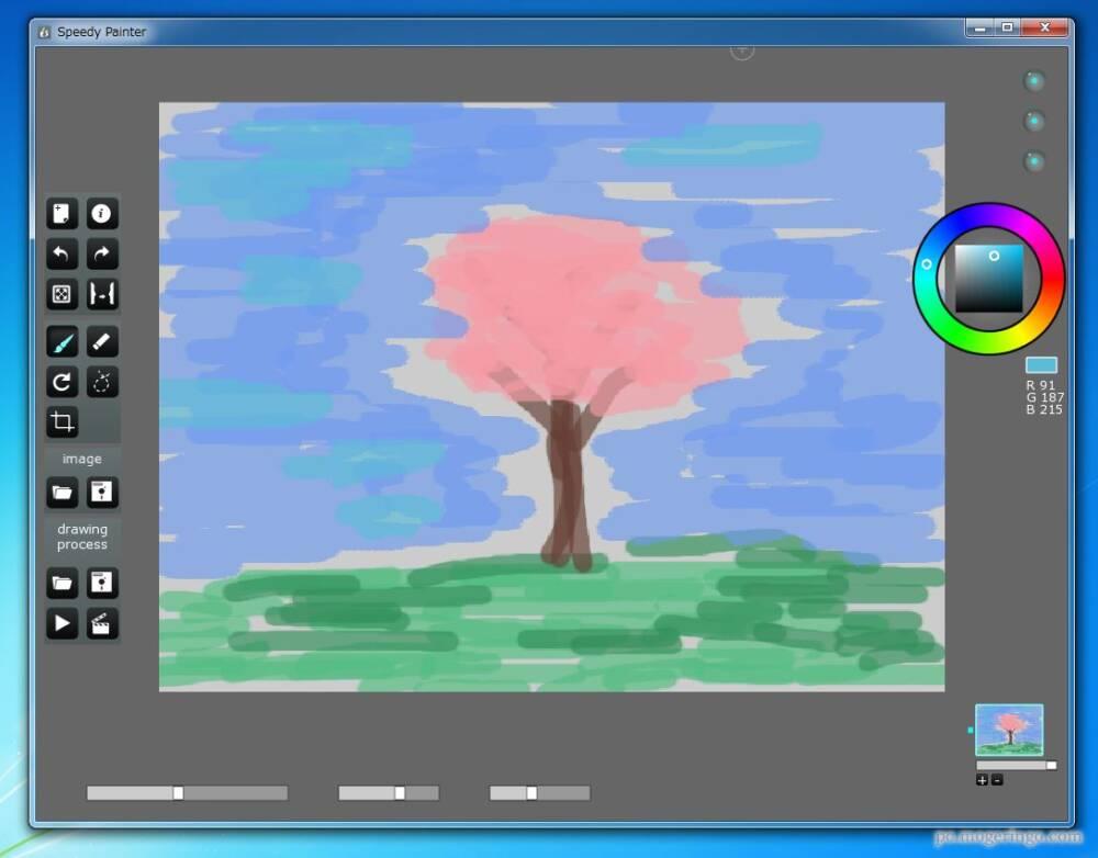 手軽にサクサクとペイントできるフリーソフト 塗り絵感覚で面白い