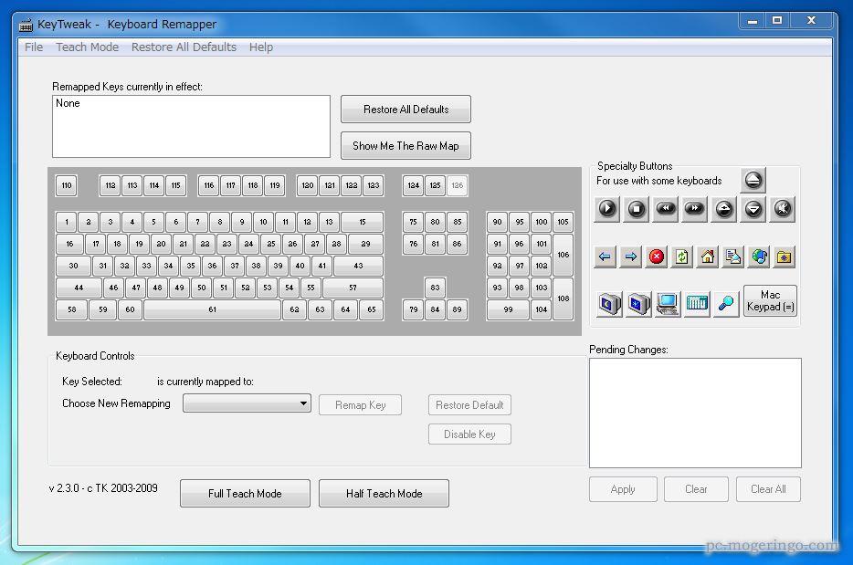 配列 変更 キーボード