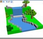 Chromeアプリ ブラウザで3Dモデリングが出来るアプリ 3DTin オブジェクトを配置していくだけで簡単に作成出来ます