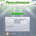 ブラウザをベンチマーク出来るネットサービス 各種ブラウザの比較にも便利 PeaceKeeper