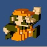 3Dのドット絵がブラウザで描けるネットサービス Q-Block 壁紙として絵をダウンロードも出来ます