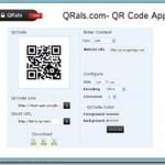 手軽にQRコードが作成出来るネットサービス 色やサイズや様々なリンクタイプを作成可能「QRals」