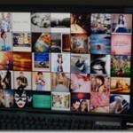 Instagramの画像をスクリーンセーバにできるフリーソフト 『Screenstagram』 沢山の画像が表示