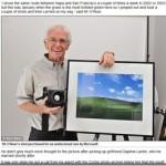 WindowsXPの草原の写真を撮ったカメラマンのご紹介の記事