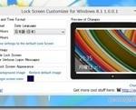 Windows8ロック画面をカスタマイズできるフリーソフト『Lock Screen Customizer』