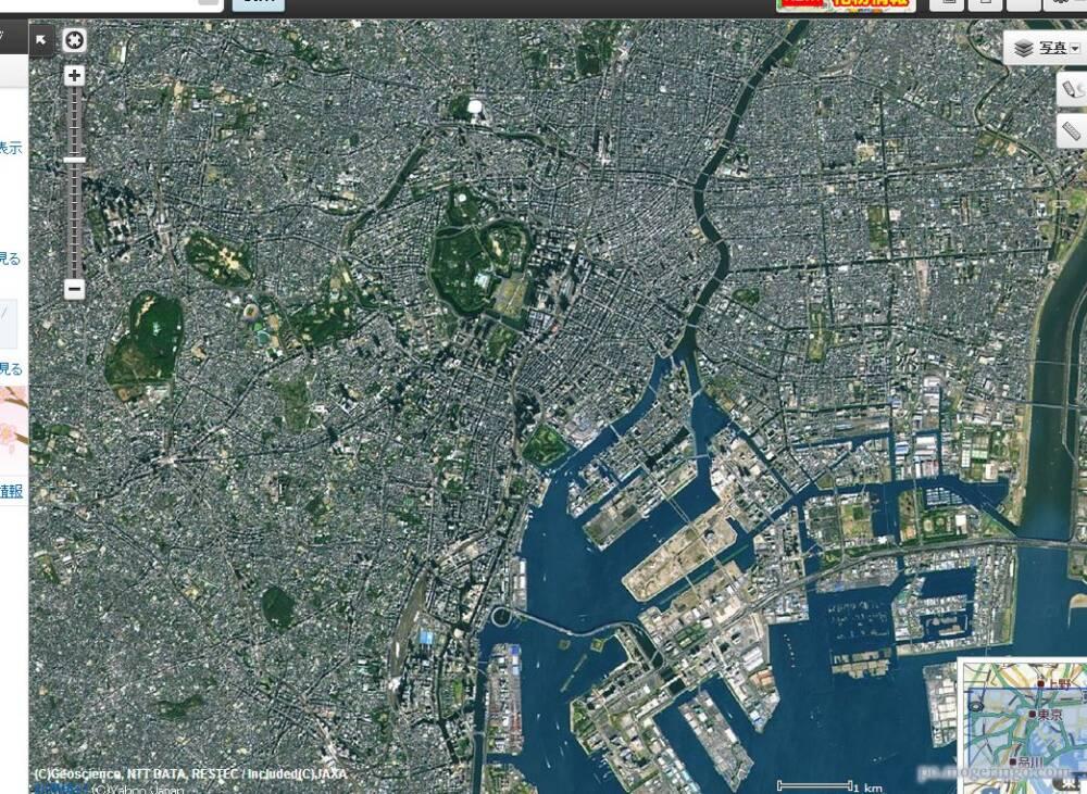 航空写真フリー マップ