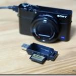 デジカメの写真取り込みが速い!! 便利なカードリーダを購入しました ELECOM MR3-C004
