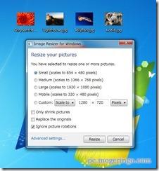 手軽に右クリックで画像をリサイズしてくれるフリーソフト 『ImageResizer』