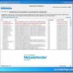 40以上のスキャンエンジンでシステムプロセスをスキャンしてくれるフリーソフト 『Metadefender Client Beta』