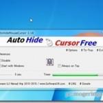 一定時間でマウスカーソルを自動で隠してくれるフリーソフト 『AutoHideMouseCursor』