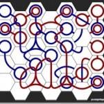 赤青の線を繋げるだけのシンプルルールなパズルゲーム!! ちょっと息抜きに楽しめるWebゲーム 『Curvy』