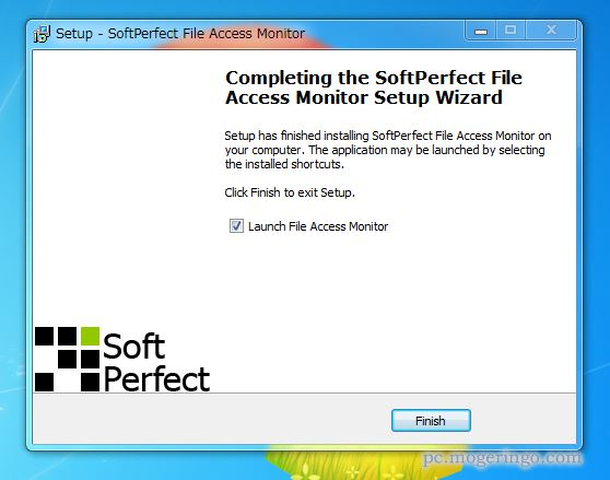 softperfect file access monitor ダウンロード