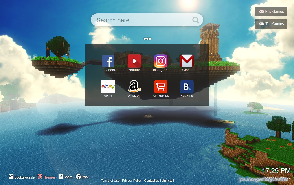 マインクラフトが大好きな人に 新しいタブがマイクラになるchrome