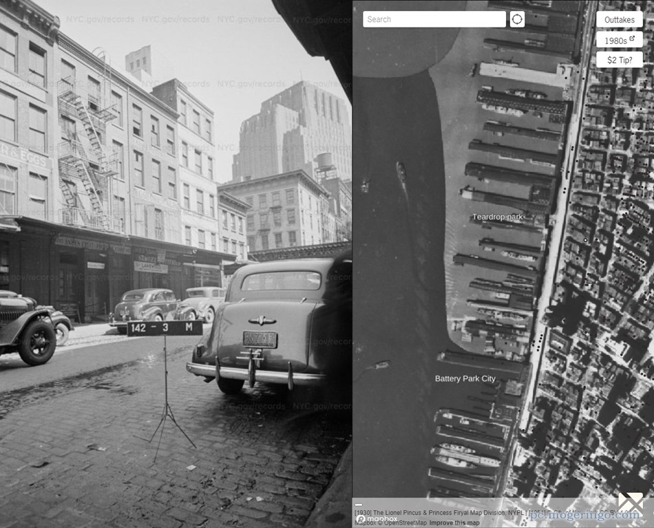 1940年代のニューヨークを写真で歴史を感じる事ができるWebサービス ...